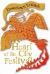 Heart of city emblem